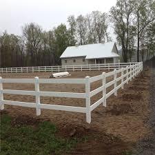 China Isolation Fence 3 Rail Aluminum Steel Iron Horse Fence Not Vinyl Plastic Pvc China Horse Fence Horse Fencing