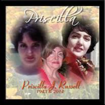 Priscilla J. Russell Obituary - Visitation & Funeral Information