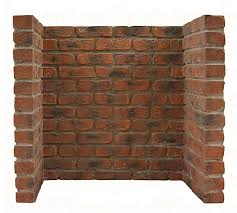 brick fireplace chamber rustic brick