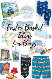 easter basket ideas for boys the