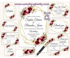 template pocket wedding invitations