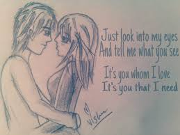 drawing quotes love