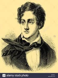 Lord Byron, George Gordon Byron (22 January 1788 – 19 April 1824 Stock  Photo - Alamy