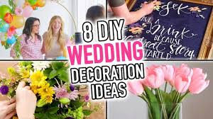 8 diy wedding decoration ideas