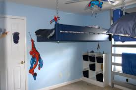 Spider Man Room For My Little Boys That My Husband And I Came Up With Kid Room Decor Trendy Bedroom Kids Bedroom