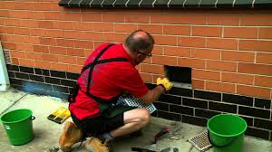 how to replace a brick wall vent diy