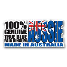 100 Aussie Australian 3 Vinyl Sticker For Car Laptop Water Bottle Phone Waterproof Decal Walmart Com Walmart Com
