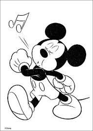 Kids N Fun 49 Kleurplaten Van Mickey Mouse