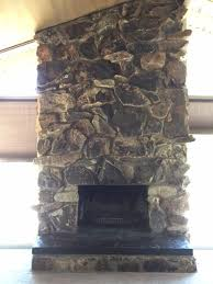 how to make stone fireplace look better