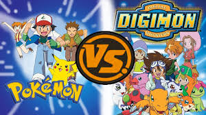 Digimon vs Pokemon: Children and their Cute Monster Partners ...