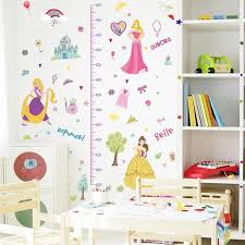 Disney Princess Height Chart Wall Decals The Treasure Thrift