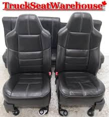 ford f250 superduty truck black leather