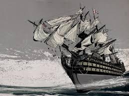 ship schooner sails hd wallpaper art