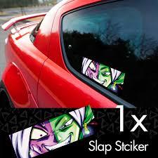 Buy Zamasu Merged Saiyan V1 Z Dbz Super Black Goku Manga Anime Printed Box Slap Bumper Car Vinyl Sticker