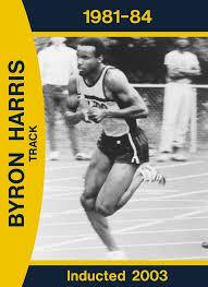 Byron Harris, Men's Track & Field (1981-1984) - University of ...