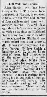 Bertha Smith nee Miller leaves husband. - Newspapers.com