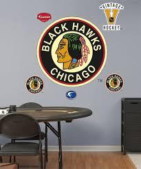 Fathead Chicago Blackhawks Classic Logo Wall Decal Set Zulily
