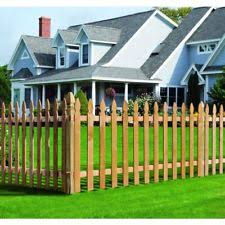 French Gothic Fence Picket 27 Pack Outdoor Rectangle Stainable Paintable Wood For Sale Online Ebay