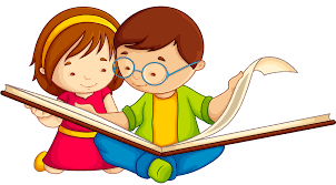 Clipart book reading, Clipart book reading Transparent FREE for ...