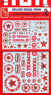 Amt Texaco Trucking Decals 1 25 Scale