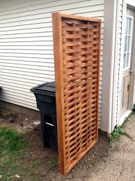 Woven Privacy Screen Privacy Screens Indoor Privacy Screen Hide Trash Cans