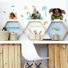 Disney Moana Peel And Stick Wall Decals Roommates Decor