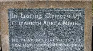 Gisborne District Council - Cemetery Database - Elizabeth Adela Moore