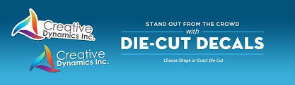 Die Cut Decals Die Cut Vinyl For Business Logos Signazon Com