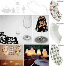 creative ideas diy wine glass candle