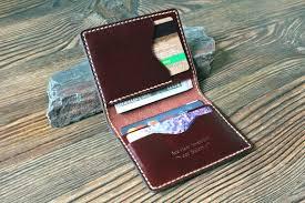 card holder leather card wallet mens