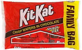 kit kat snack size family bag bars