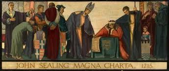 John Sealing the Magna Carta 1215 | Art UK