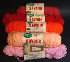 vintage sayelle kmart knitting worsted