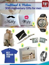 30th anniversary gift ideas for him