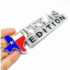Texas Edition Badge Metal Sticker Car Truck Emblem Tx State Flag Ebay
