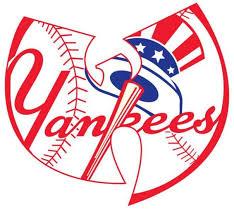 Wu Tang New York Yankees Logo Sticker Decal Vinyl Car Window Mlb Baseball In 2020 Baseball Vinyl Decal Logo Sticker New York Yankees Logo