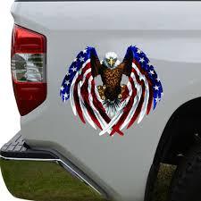 Bald Eagle Usa American Flag Car Truck Sticker Laptop Window Decal Bumper Cooler Archives Statelegals Staradvertiser Com