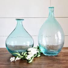 decorative bubble glass bottle