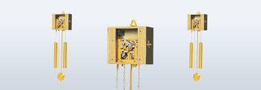 mechanical wall clock movements at