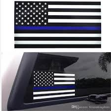 Thin Blue Line Flag Decal 2 5 4 5inch American Flag Sticker For Cars And Trucks Wall Window Stickers 2019032902 Stained Glass Window Clings Static Cling Car Window Decals From Frozenkingdom 140 21 Dhgate Com