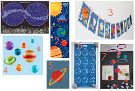 Outer Space Decor For Kid Rooms Ecbloom