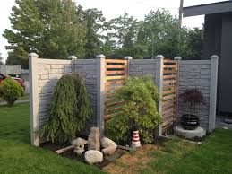 Simtek Ecostone Simulated Stone Fencing Custom Entry Eclectic Landscape Vancouver By Innovation Fencing Inc