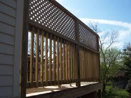 Pin By Deckadent Designs On Wood Decks Deck Privacy Lattice Deck Outdoor Privacy