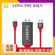 Cáp truyền tín hiệu Lightning sang HDMI - Earldom ET W5
