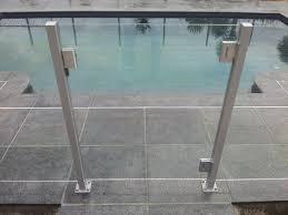 Aluminium Glass Pool Fencing Balustrade Systems