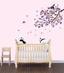 Amazon Com Flower Decals Flowers In Tree Stickers Baby Girls Room Decor Baby