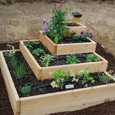 diy stacked herb garden vegetable