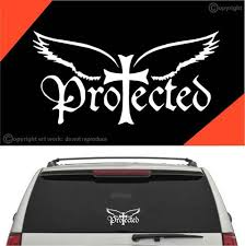 Protected Christian Auto Decal Car Sticker A1 Topchoicedecals