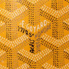 yellow goyard logo loix