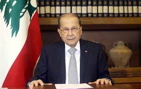 Image result for Lebanon President General Michel Aoun.
